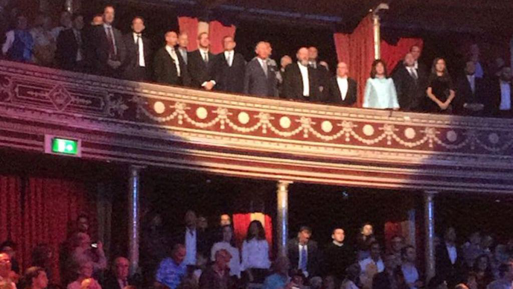 Prince Charles joins celebrations for Israel's 70th at Royal Albert Hall
